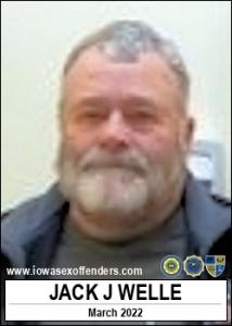 Jack Jay Welle a registered Sex Offender of Iowa