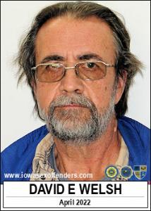 David Eugene Welsh a registered Sex Offender of Iowa