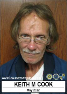 Keith Michael Cook a registered Sex Offender of Iowa