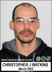 Christopher Joseph Watkins a registered Sex Offender of Iowa
