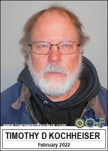 Timothy Dann Kochheiser a registered Sex Offender of Iowa