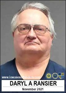 Daryl Allen Ransier a registered Sex Offender of Iowa