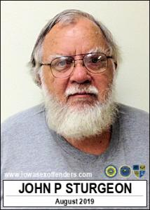 John Paul Sturgeon a registered Sex Offender of Iowa