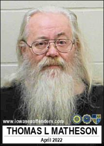 Thomas Leroy Matheson a registered Sex Offender of Iowa
