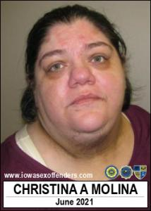 Christina Ann Molina a registered Sex Offender of Iowa