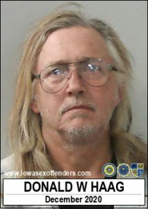 Donald William Haag a registered Sex Offender of Iowa