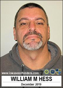 William Mark Hess a registered Sex Offender of Iowa
