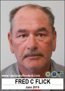 Fred Carl Flick a registered Sex Offender of Iowa
