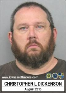 Christopher Lynn Dickenson a registered Sex Offender of Iowa