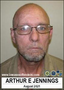 Arthur Eugene Jennings a registered Sex Offender of Iowa