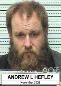 Andrew Lloyd Hefley a registered Sex Offender of Iowa