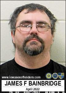 James Francis Bainbridge a registered Sex Offender of Iowa