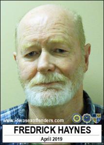 Fredrick Haynes a registered Sex Offender of Iowa