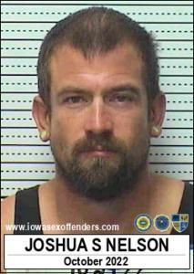 Joshua Steven Nelson a registered Sex Offender of Iowa
