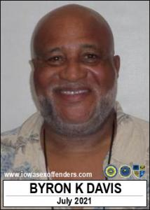 Byron Kenneth Davis a registered Sex Offender of Iowa