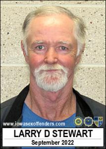 Larry Dean Stewart a registered Sex Offender of Iowa