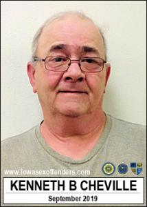 Kenneth Byron Cheville a registered Sex Offender of Iowa