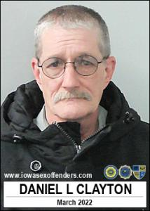 Daniel Lavern Clayton a registered Sex Offender of Iowa