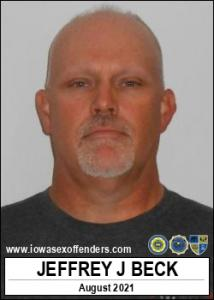 Jeffrey James Beck a registered Sex Offender of Iowa