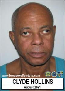 Clyde Hollins a registered Sex Offender of Iowa