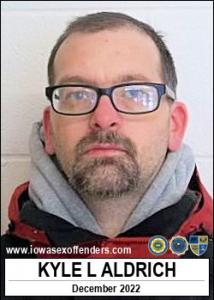 Kyle Leroy Aldrich a registered Sex Offender of Iowa