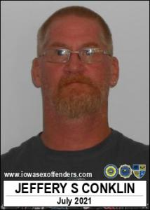 Jeffery Scott Conklin a registered Sex Offender of Iowa