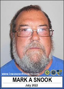 Mark Alan Snook a registered Sex Offender of Iowa