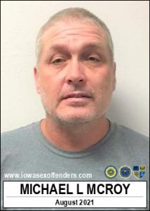 Michael Lane Mcroy a registered Sex Offender of Iowa