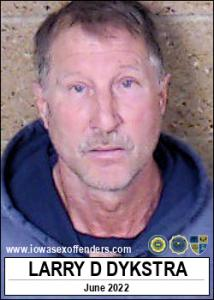 Larry Dale Dykstra a registered Sex Offender of Iowa