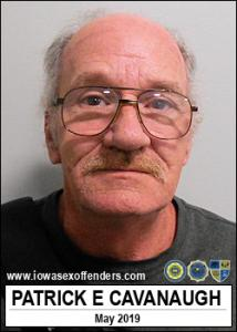 Patrick Edward Cavanaugh a registered Sex Offender of Iowa