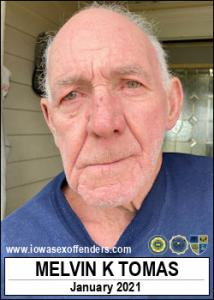 Melvin Keith Tomas a registered Sex Offender of Iowa