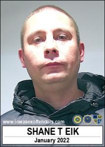 Shane Todd Eik a registered Sex Offender of Iowa