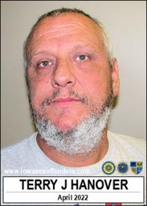 Terry James Hanover a registered Sex Offender of Iowa