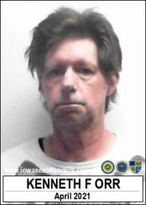 Kenneth Francis Orr a registered Sex Offender of Iowa