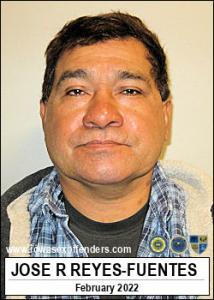 Jose Rigoberto Reyes-fuentes a registered Sex Offender of Iowa