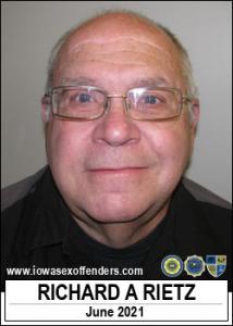 Richard Alan Rietz a registered Sex Offender of Iowa