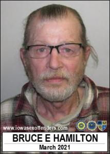 Bruce Edward Hamilton a registered Sex Offender of Iowa