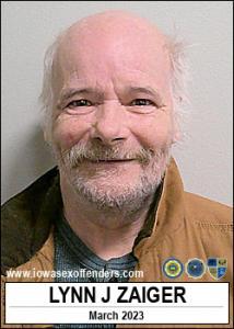 Lynn Jesse Zaiger a registered Sex Offender of Iowa