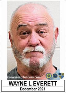 Wayne Leroy Everett a registered Sex Offender of Iowa