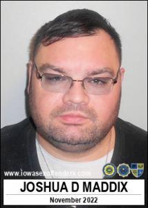 Joshua David Maddix a registered Sex Offender of Iowa