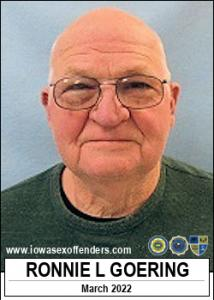 Ronnie Lee Goering a registered Sex Offender of Iowa