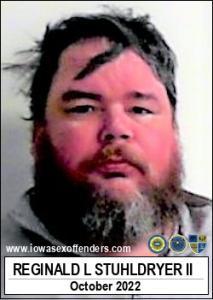Reginald Lee Stuhldryer II a registered Sex Offender of Iowa