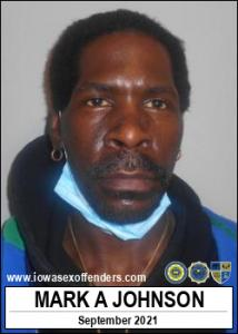 Mark Anthony Johnson a registered Sex Offender of Iowa