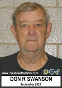 Don Ray Swanson a registered Sex Offender of Iowa