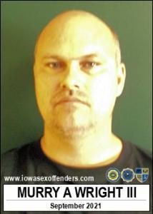 Murry Albert Wright III a registered Sex Offender of Iowa