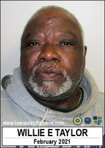 Willie Edward Taylor a registered Sex Offender of Iowa