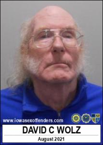 David Charles Wolz a registered Sex Offender of Iowa