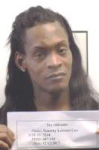 Timothy Lorenzo Cox a registered Sex Offender of Washington Dc