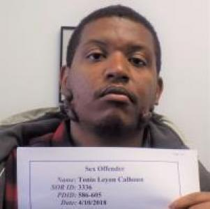 Tonio Leyon Calhoun a registered Sex Offender of Washington Dc