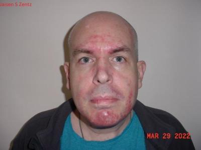 Jaisen S Zentz a registered Sex or Violent Offender of Indiana